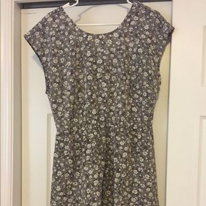 Old Navy flowered dress